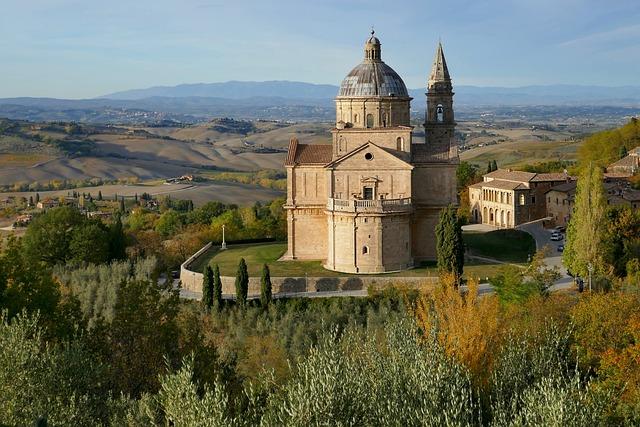 San Biagio, Church, Tuscany, Siena, Italy