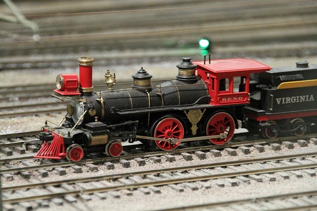 San Diego, Train Museum, Balboa Park, Model Train