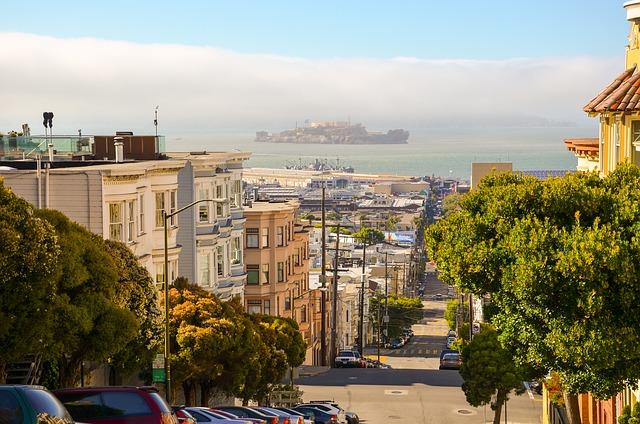 San Francisco, California, Usa, America, City
