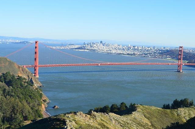San Francisco, California, Bridge, Golden Gate