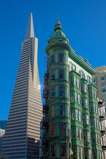 Transamerica Pyramid, San Francisco, Sentinel Building