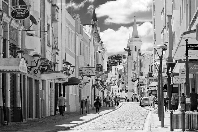 Curitiba, Parana, Brazil, San Francisco Street, Tourism