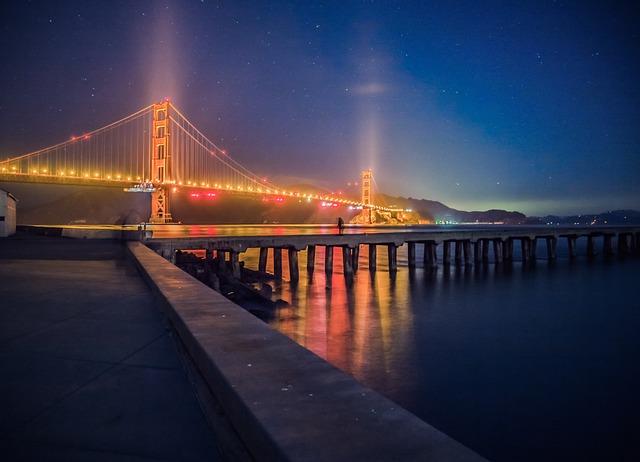 Torpedo Wharf, San Francisco, Golden Gate Bridge