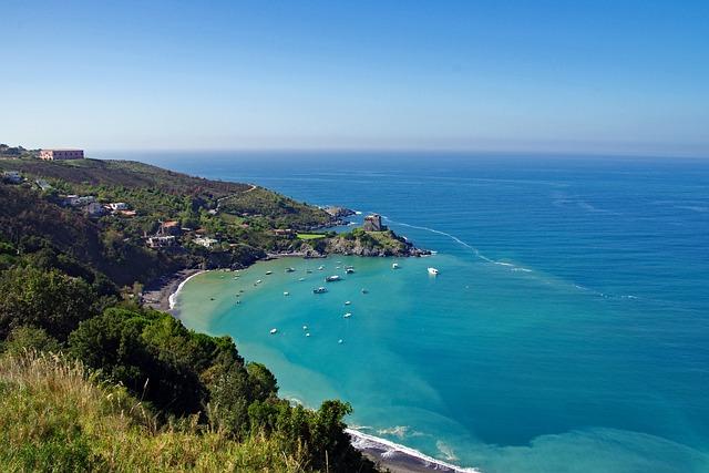 San Nicola Arcella, Sea, Calabria, Italy, Bay, Rada