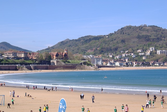 Landscape, The Concha Bay, San Sebastian