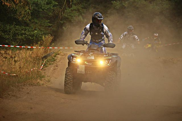 Motocross, Enduro, Quad, Atv, Sand, Dust