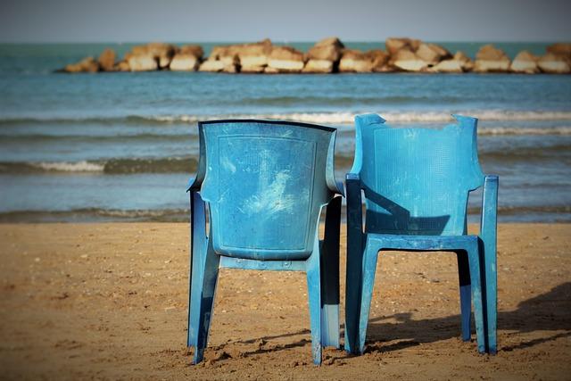 Chair, Wood, Beach, Sea, Solitude, Sand, Holidays
