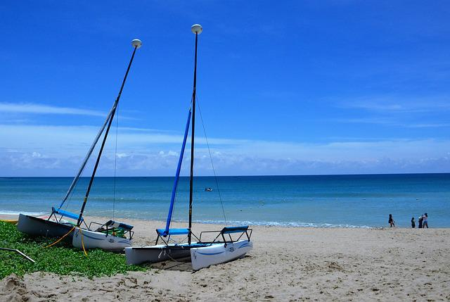 Butyl 墾, Chateau, Sand Beach, Sea, Sailboat, Marine