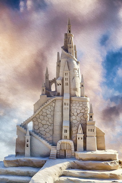Sandcastle, Beach, Summer, Sand, Castle, Vacation