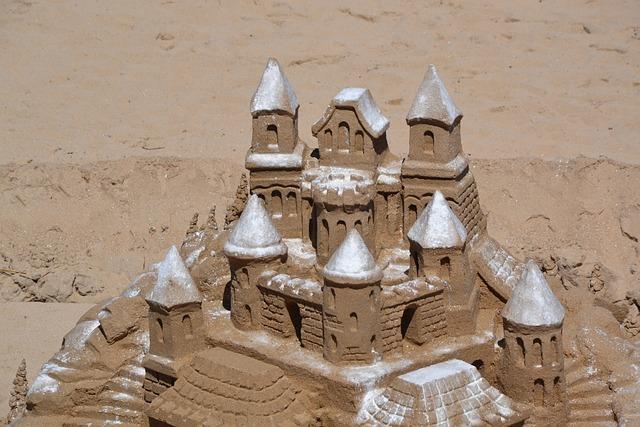 Castle, Sand, Beach, Sand Castle, Sea