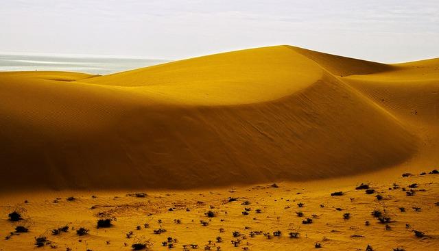 Sand Dunes, Desert, Sand, Dune, Mui Ne, Phan Thiet