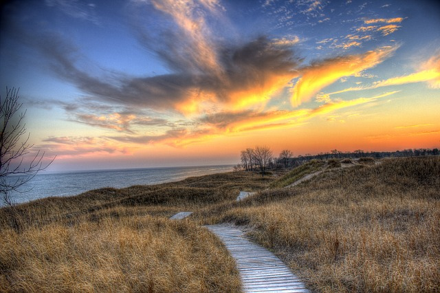Landscapes, Scenic, Wisconsin, Sand Dunes, Nature