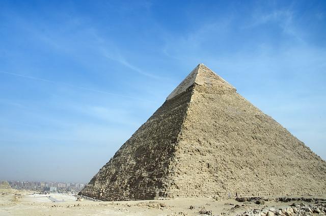 Egypt, Cairo, Giza, Pyramid, Kephren, Sand, Marvel