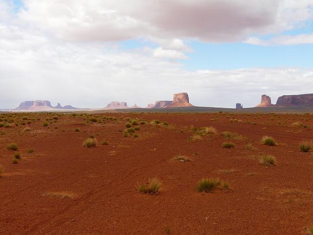 Monument Valley, Kayenta, Arizona, Usa, Mountain, Sand