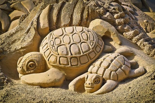 Sandburg, Art, Sand Sculpture, Sculpture, Sand, Statue