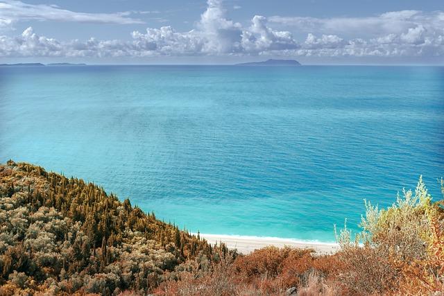 Sea, Water, Albania, Ocean, Beach, Sky, Sand, Blue