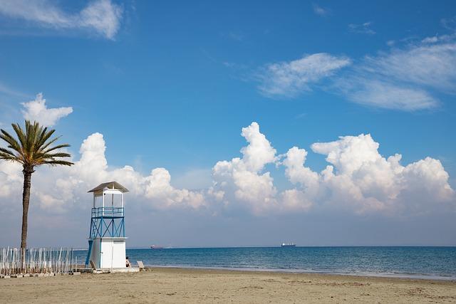 Sand, Summer, Waters, Sea, Beach, Cyprus, Larnaca