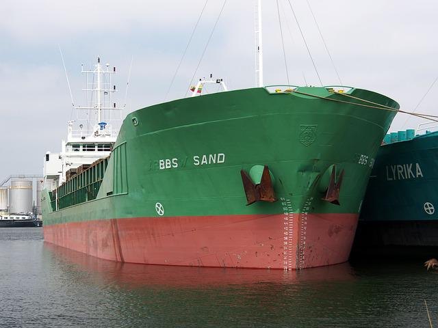 Ship, Bbs, Sand, Pdio, Port, Amsterdam, Shipping