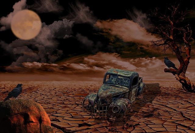 Desert, Travel, Karg, Erosion, Drought, Sand Stone