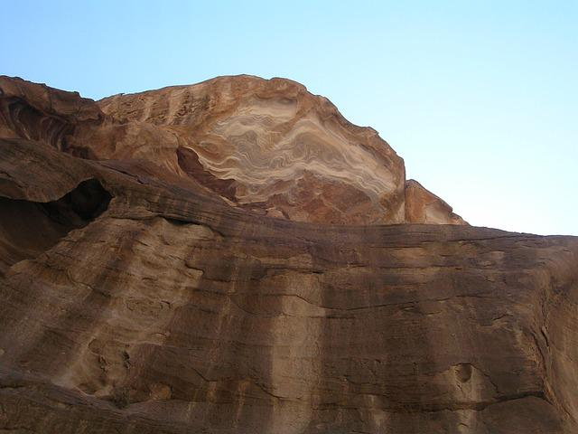 Stone, Petra, Jordan, Desert, Ruin, Sand Stone