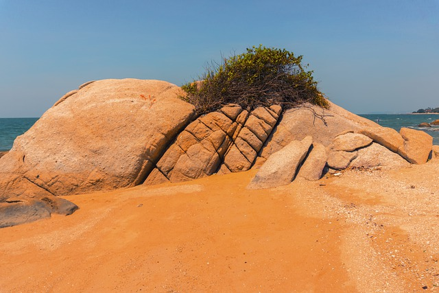 Sand, Beach, Rock, Nature, Thailand, Asia, Vacations