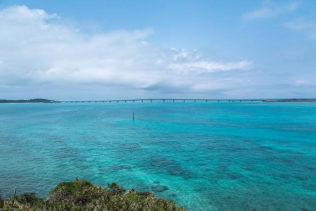 Sand, Waters, Summer, Natural, Okinawa