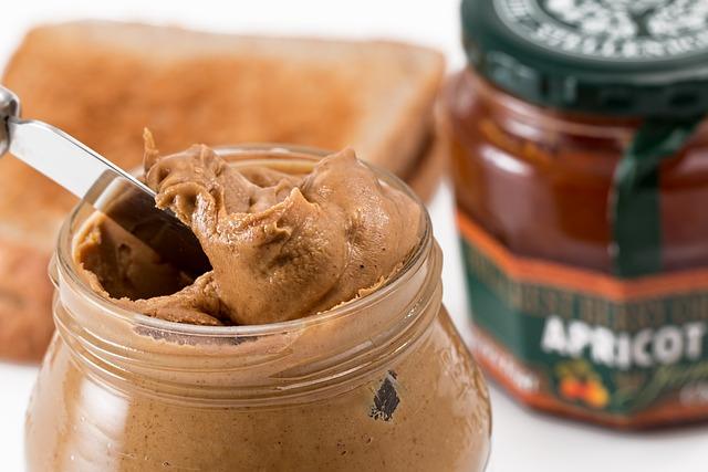 Peanut Butter, Toast, Spread, Breakfast, Jam, Sandwich