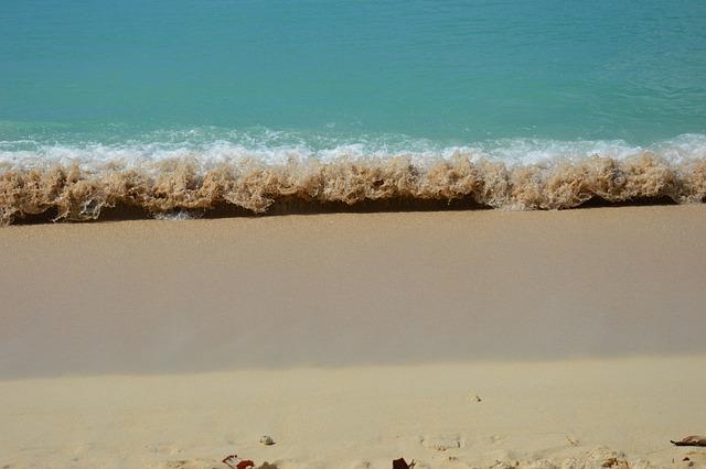 Caribbean, Sandy Beach, Guadeloupe