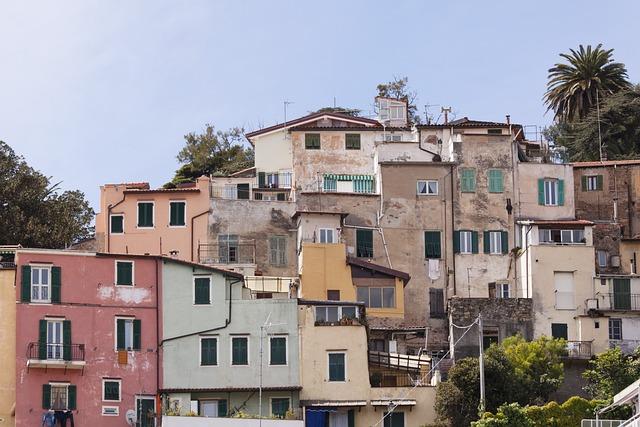 Sanremo, Old Town, La Pigna, Riviera, Liguria