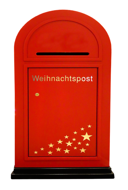 Christmas, Santa Claus, Mailbox, Post, Christmas Post