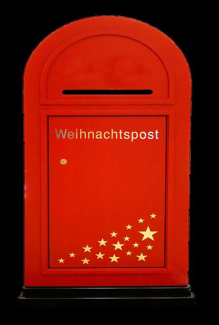 Christmas, Santa Claus, Mailbox, Post, Christmas Post