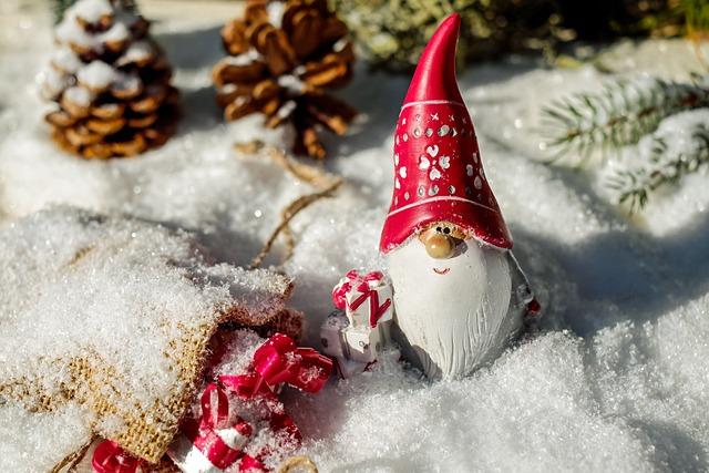 Santa Claus, Christmas Motif, Fig, Nicholas, Imp, Gifts