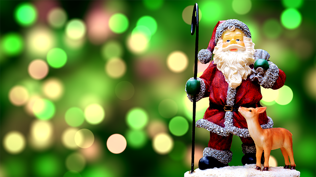 Christmas, Santa Claus, Cute, Fig, Decoration, Nicholas