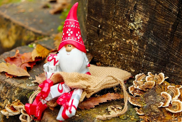 Santa Claus, Christmas Motif, Figure, Nicholas, Imp