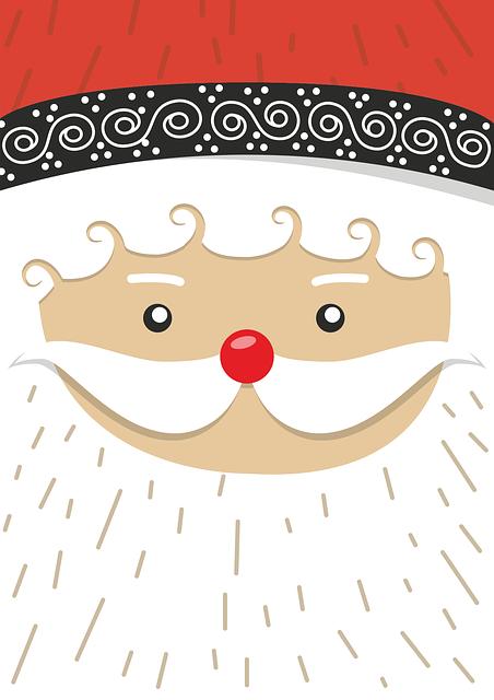 Santa Claus, Christmas Motif, Winter, Advent, Gifts