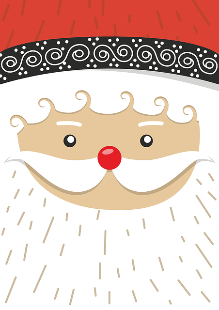 Santa Claus, Christmas Motif, Winter, Advent, Gifts