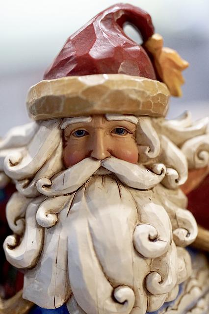 Santa Claus, Nicholas, Christmas, Decoration