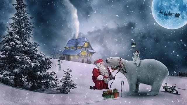 Christmas, Christmas Motive, Winter, Santa Claus