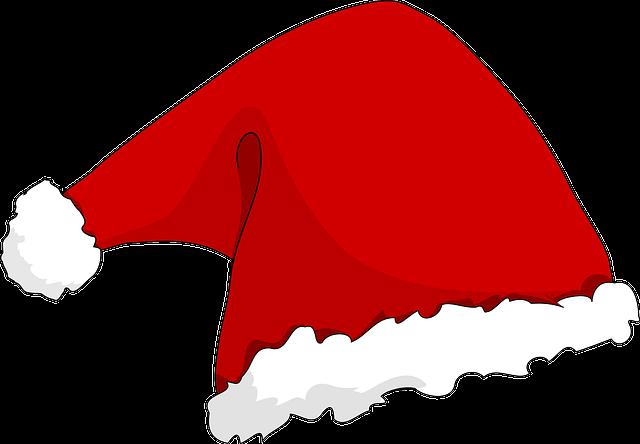 Santa's Hat, Santa Claus, Christmas, Red Cap, Santa Hat