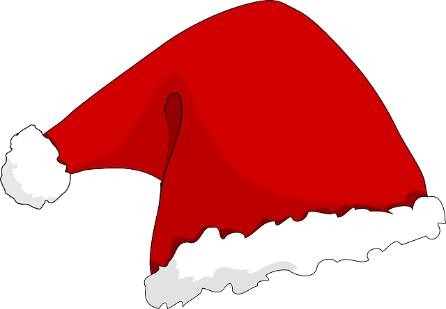 Santa's Hat, Santa Claus, Christmas, Red Cap, Santa Hat
