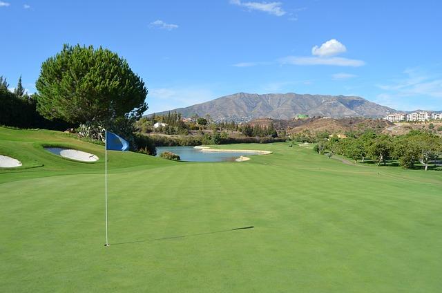 Golf, Spain, Santana