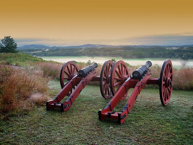 Antietam, Maryland, Saratoga Battlefield, Battlefield