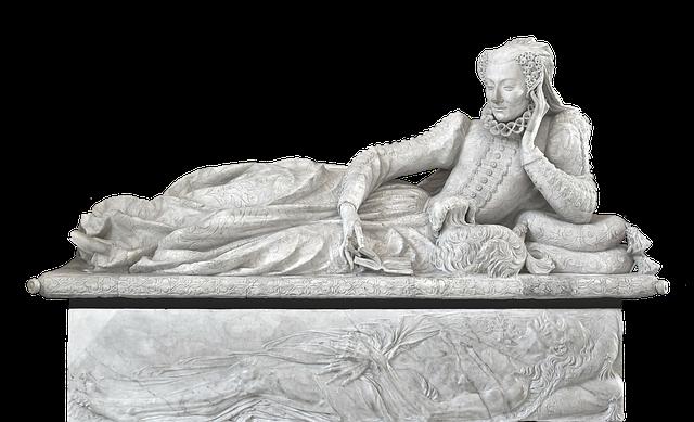 Sarcophagus, Coffin, Grave, Valentina Balbiani, Marble