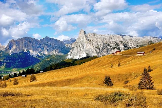 Sasssongher, Pralongia, Alta Badia, Alm, Nature, Enjoy