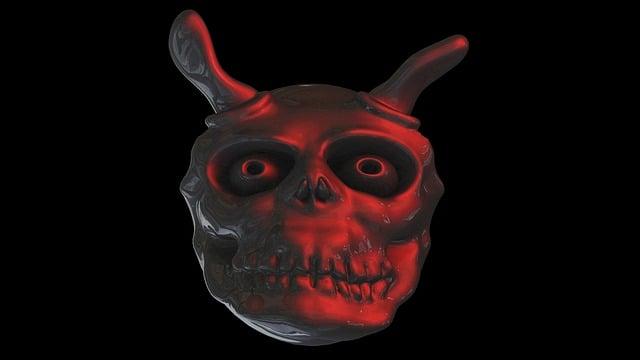 Devil, Ghost, Face, Weird, Satan, Daemon, Hell, Costume