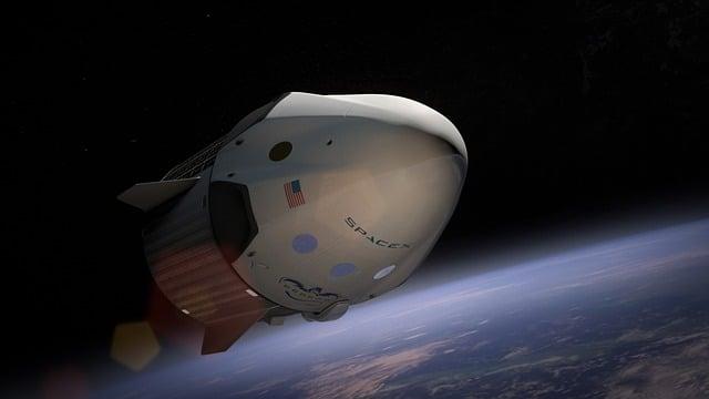 Spacex, Spaceship, Satellite, Orbit, Aeronautics, Nasa