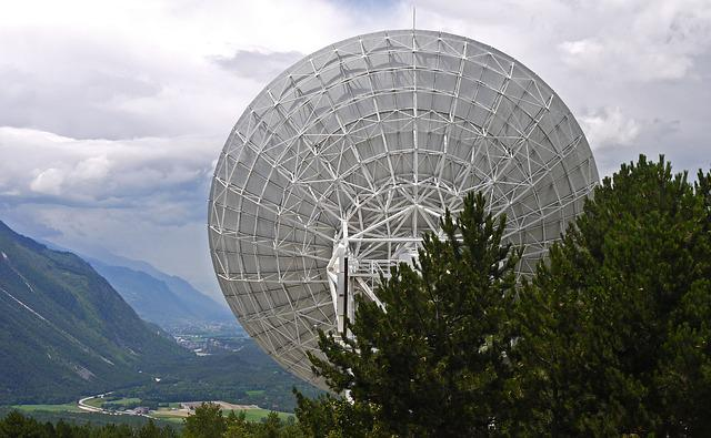 Radio Telescope, Satellitenbeoabachtung, Switzerland