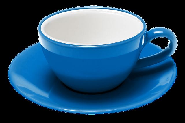 Teacup, Saucer, Coffee, The Dish, Cafe