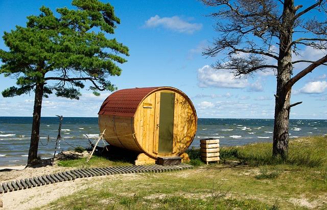 Latvia, Baltic Sea, Sauna, Wild Nature