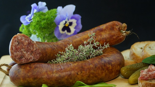 Sausage, Food, Eat, Delicious, Substantial, Cured Meats